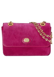 Gucci Small Marina Suede Shoulder Bag