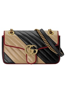 Gucci Small Marmont 2.0 Matelassé Leather Shoulder Bag