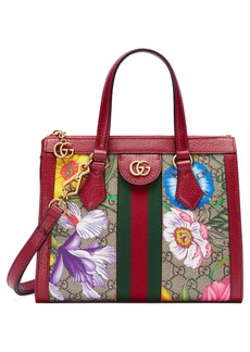 Gucci Small Ophidia Floral GG Supreme Canvas Tote