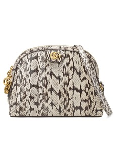 Gucci Small Ophidia Genuine Snakeskin Dome Satchel