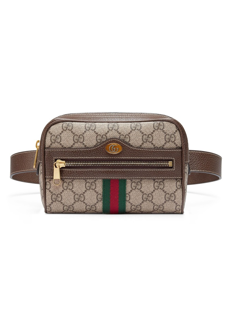 2b364d2343b4 Gucci Gucci Small Ophidia GG Supreme Canvas Belt Bag | Handbags