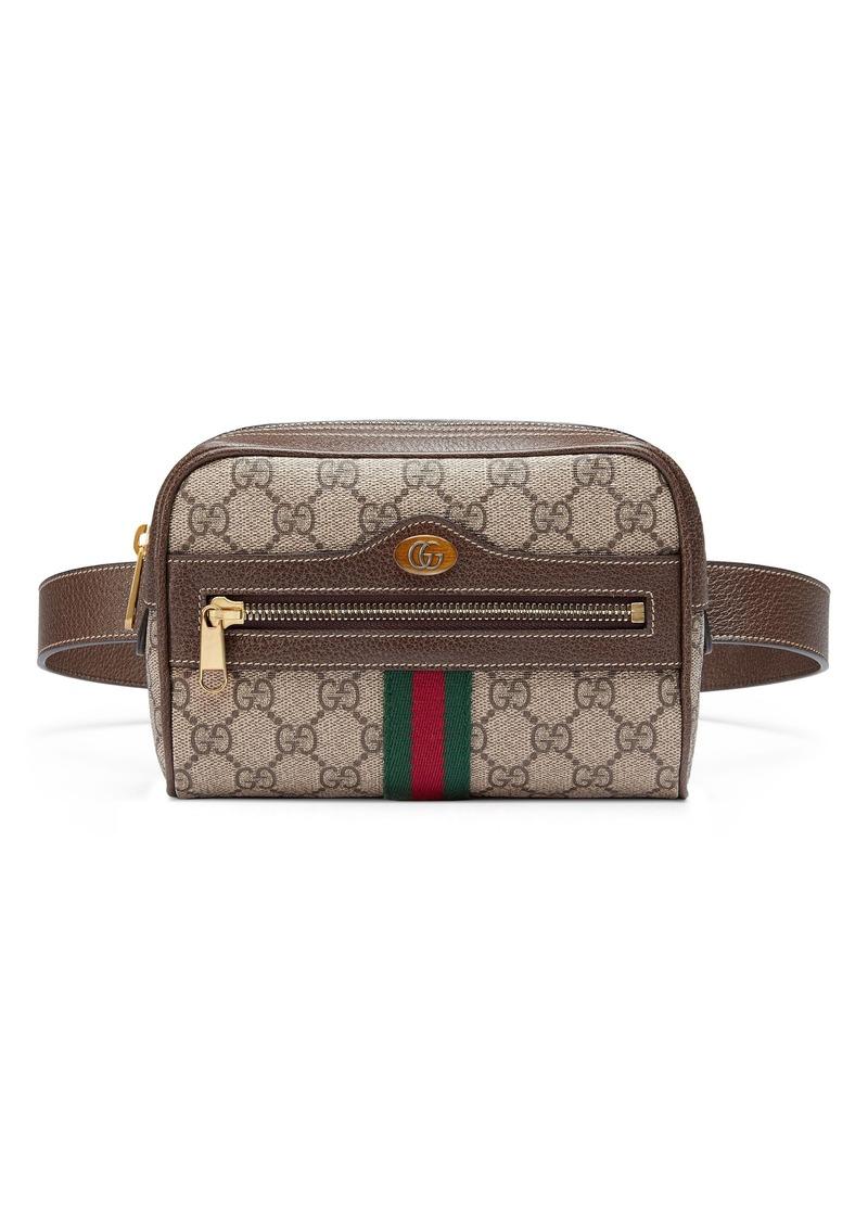 Gucci Gucci Small Ophidia GG Supreme Canvas Belt Bag  9367e68845860