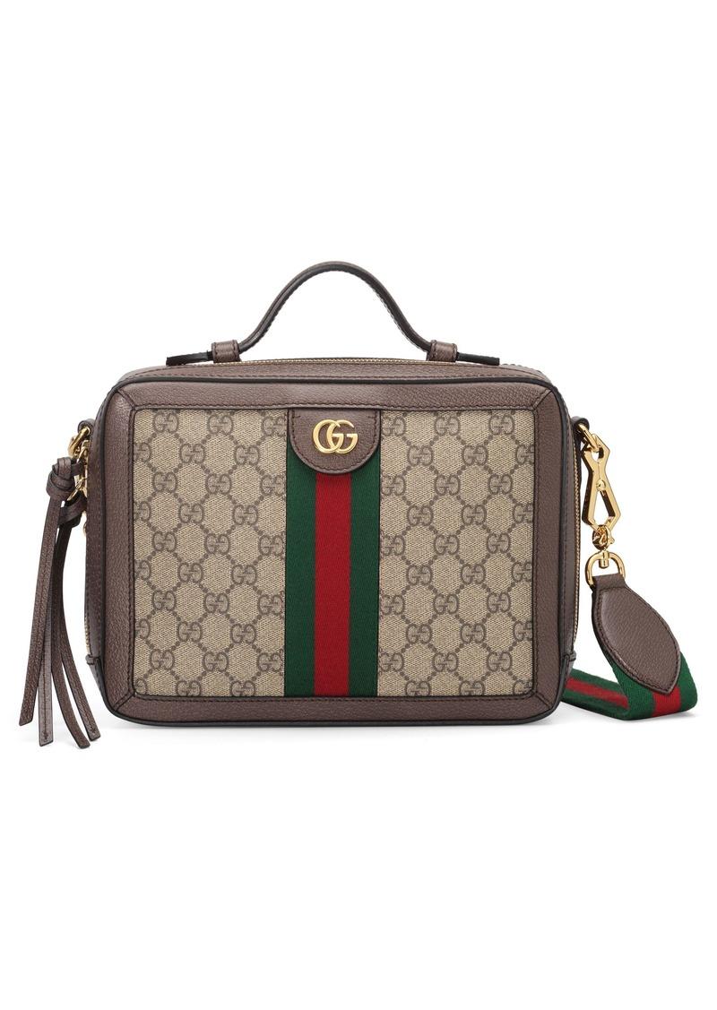 Gucci Small Canvas Shoulder Bag