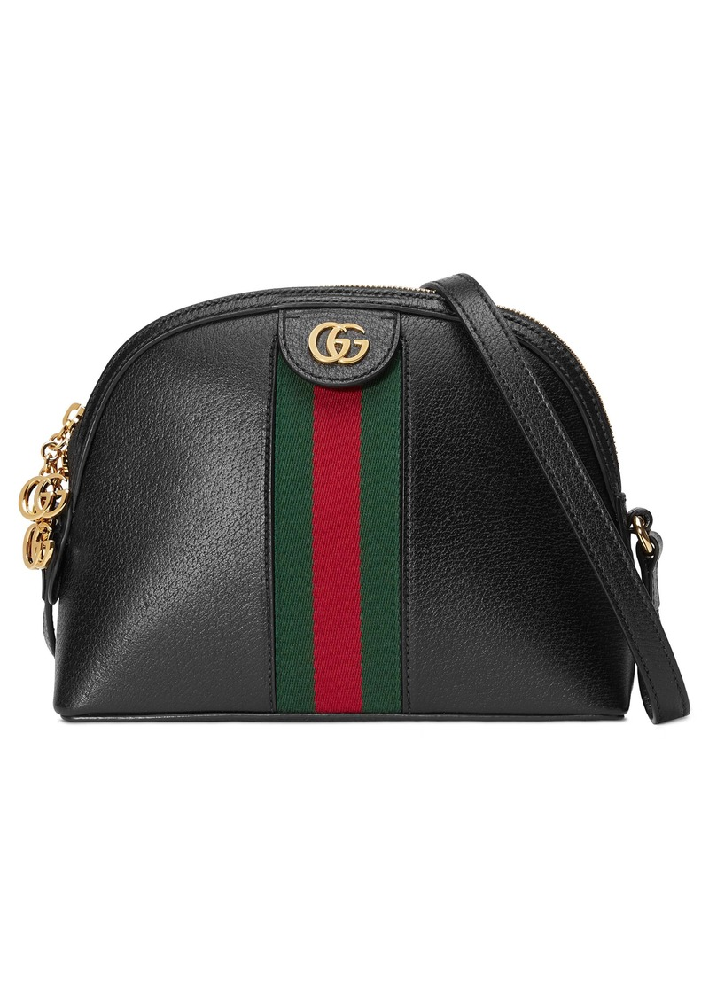 Gucci Small Ophidia Leather Shoulder Bag