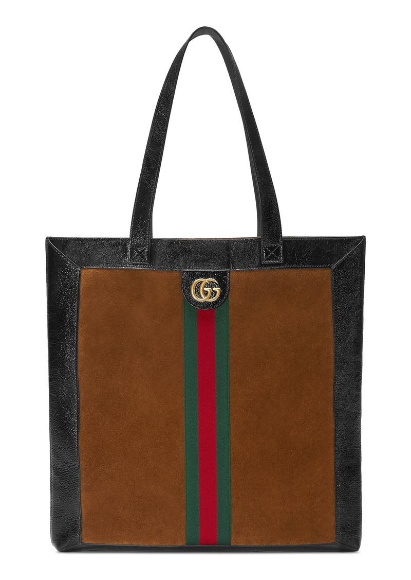 1e855b90aac Gucci Gucci Small Suede Tote Bag