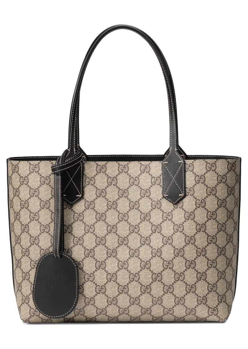 Gucci Gucci Small Turnaround Reversible Leather Tote  554e92956f065