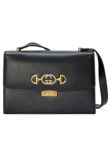Gucci Small Zumi Leather Shoulder Bag