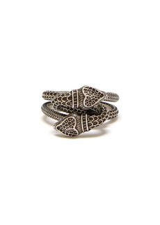Gucci Snake sterling-silver ring