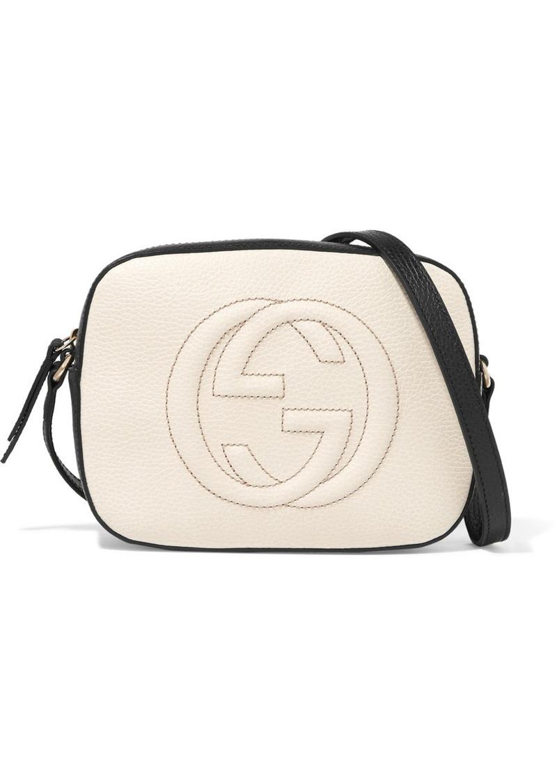 Gucci Soho Disco textured-leather shoulder bag  f961ddd8a972d