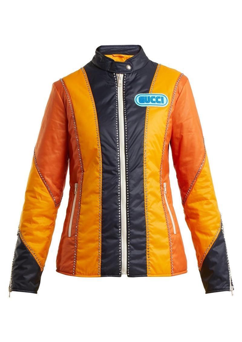 bc37a6e1d Gucci Gucci Spiritismo-appliqué long-sleeve jacket | Outerwear