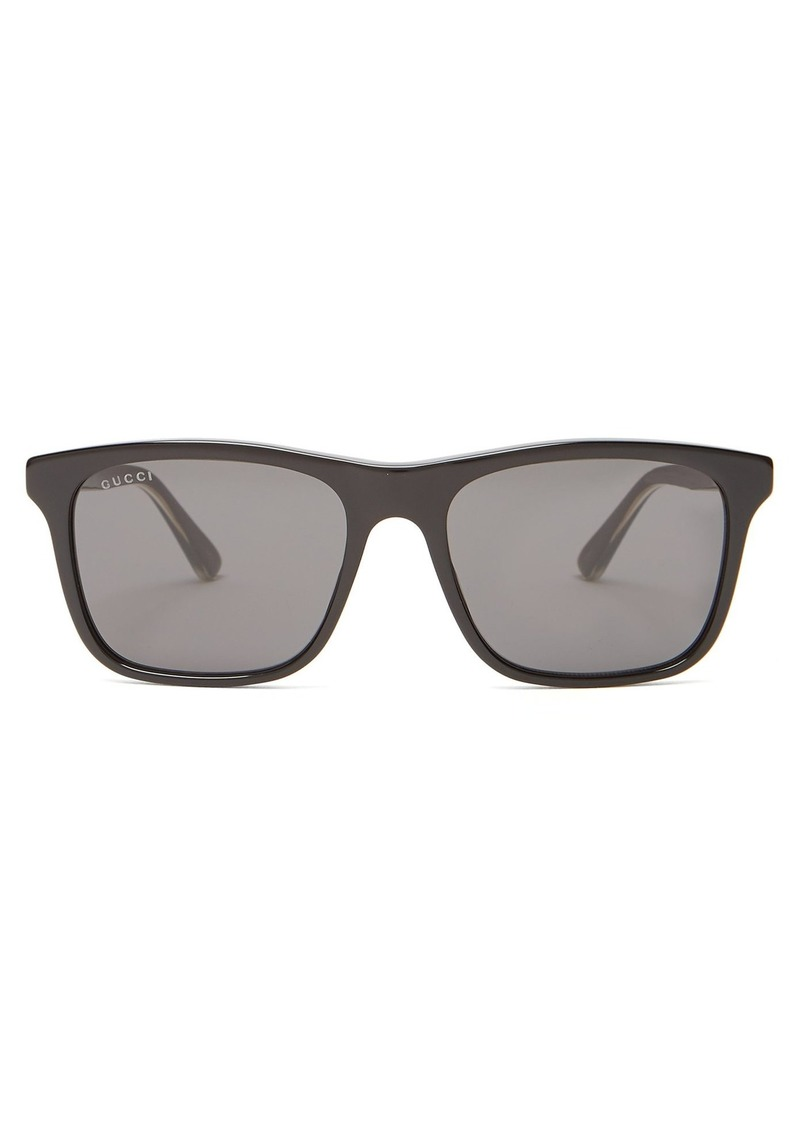 170c437f767 Gucci Gucci Square-frame acetate sunglasses