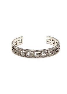 Gucci Square G sterling silver cuff bracelet