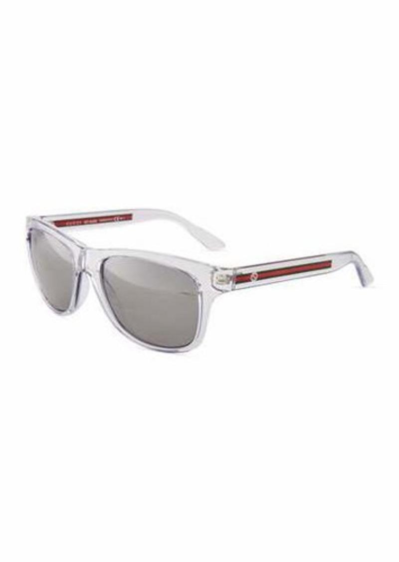 40d1af8adc250 Gucci Gucci Square Plastic Sunglasses