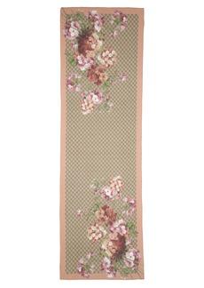 Gucci St. Geryol Cotton & Silk Scarf