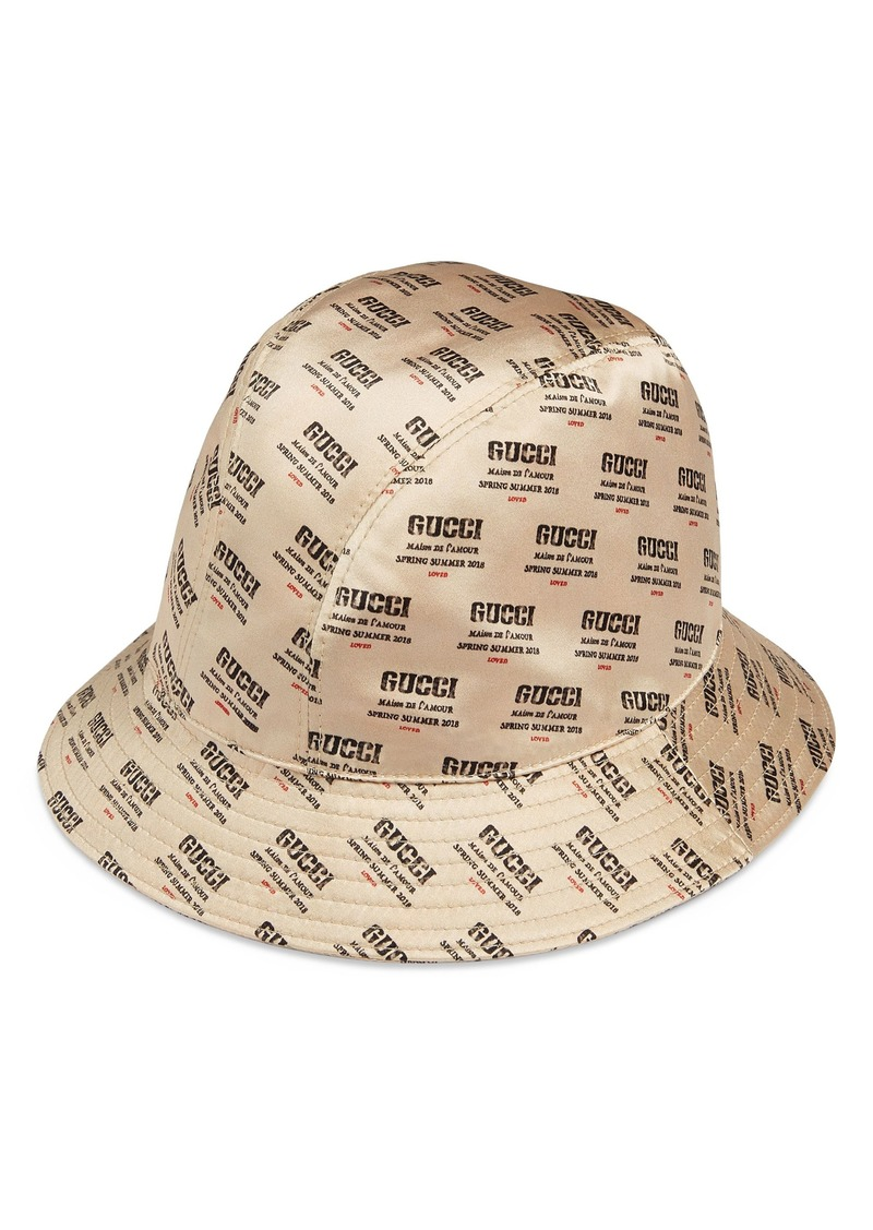 41b4988c7 Stamp Logo Bucket Hat