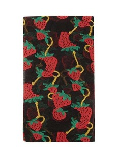 Gucci Strawberry-jacquard tights