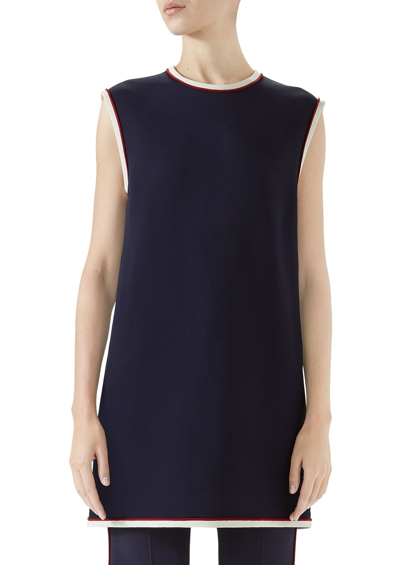 Gucci Stretch Cady Tunic Top