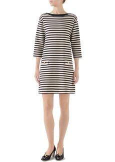 Gucci Stripe Knit Wool Dress