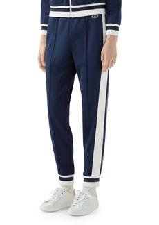 Gucci Stripe Piqué Track Pants