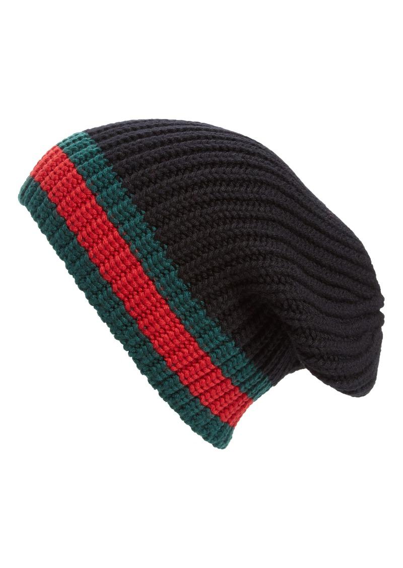 0d74e399feb65 Gucci Gucci Stripe Wool Beanie
