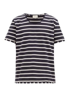 Gucci Striped cotton-jersey T-shirt