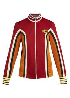 Gucci Striped technical-jersey jacket