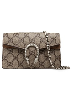 Gucci Super Mini Dionysus GG Supreme Canvas & Suede Shoulder Bag