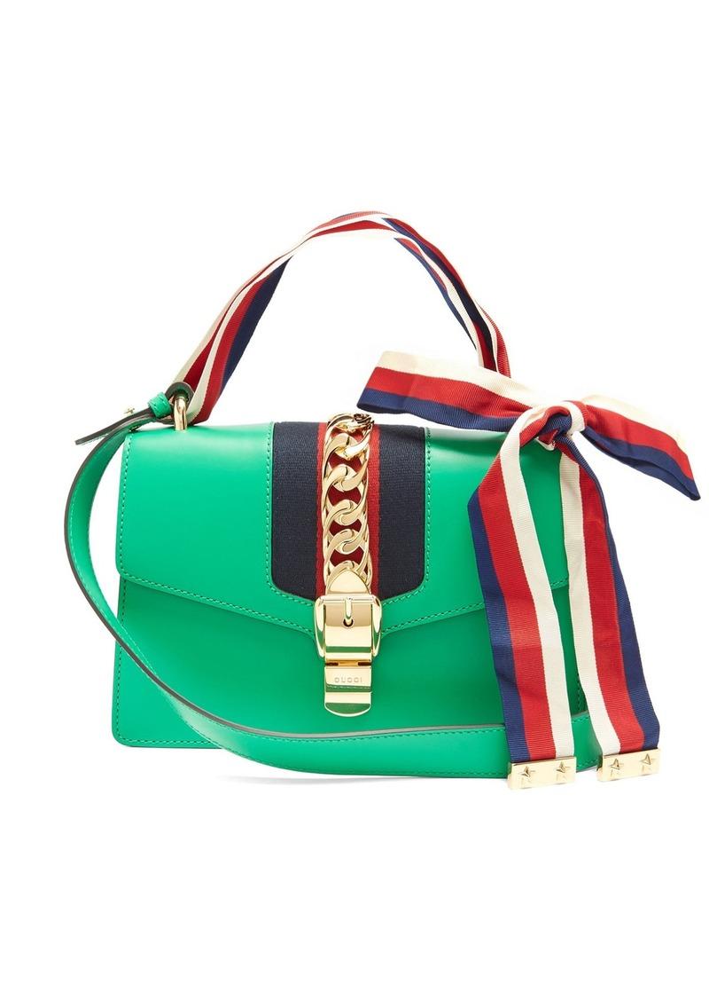 cd70bf102a3 Gucci Gucci Sylvie leather shoulder bag
