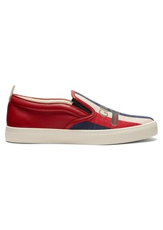 Gucci Sylvie logo slip-on trainers