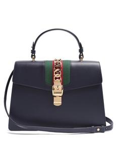 Gucci Sylvie medium leather shoulder bag