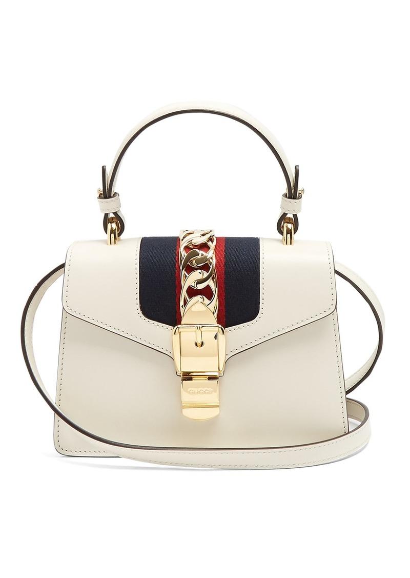 c7622f9dc1ac5 Gucci Gucci Sylvie mini leather shoulder bag