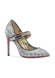 Gucci Sylvie Pointy Toe Mary Jane Pump (Women)