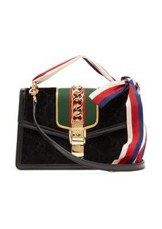 Gucci Sylvie small velvet shoulder bag