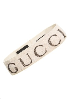 Gucci Teban Logo Headband