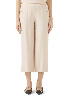 Gucci Tech Jersey Crop Pants