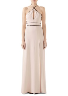 Gucci Tech Jersey Halter Gown