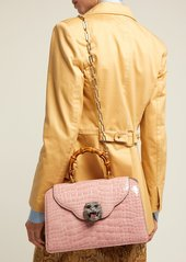 ef00da63 Gucci Gucci Thiara bamboo-handle crocodile-leather bag | Handbags