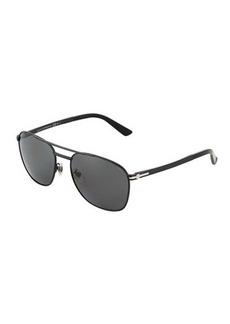 Gucci Thin Aviator Sunglasses
