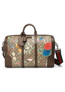 Gucci Tian GG Supreme Large Canvas Duffel Bag
