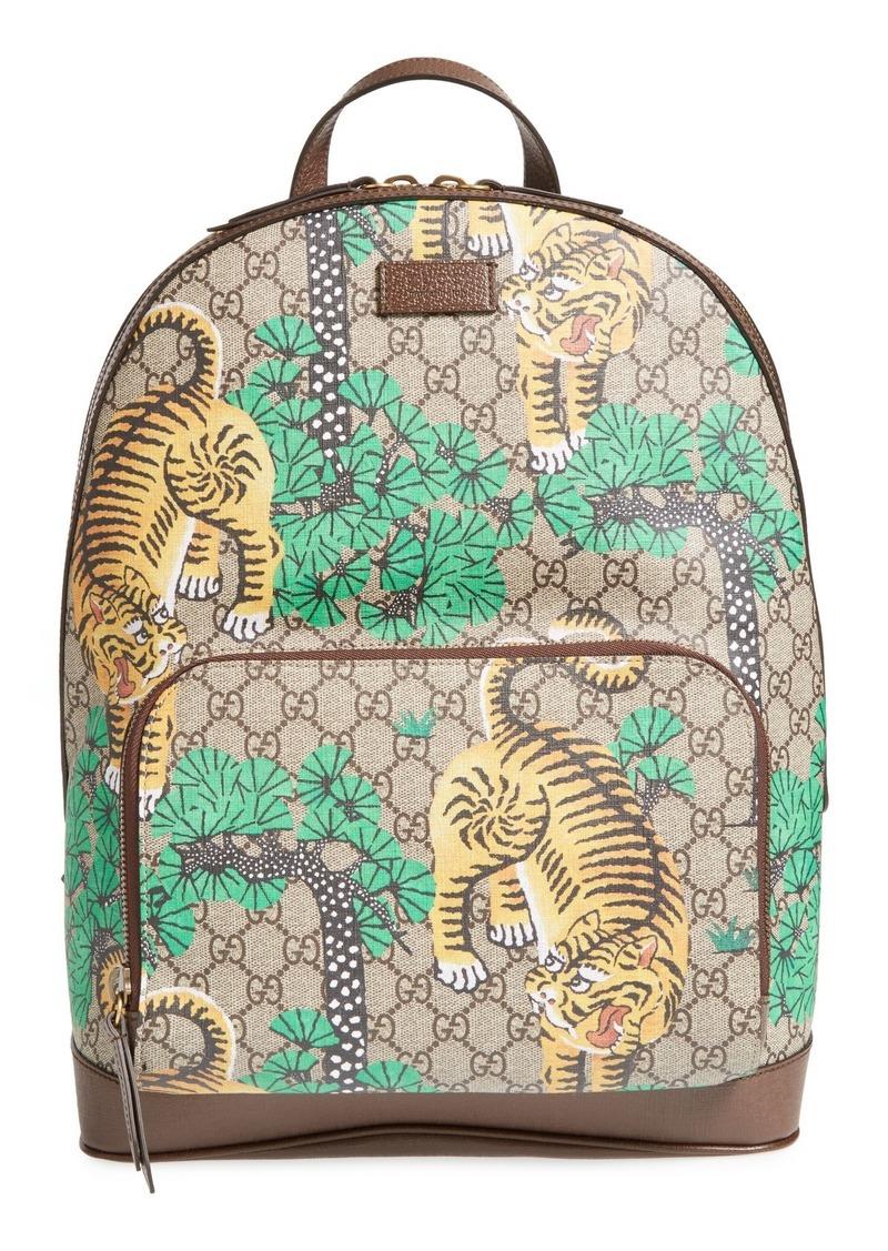 184ee6ea5f61c5 Gucci Gucci Tiger Cub Supreme Canvas Backpack | Bags
