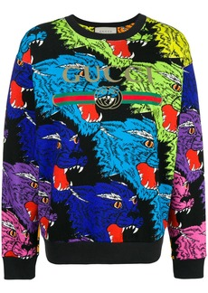 Gucci Tiger Intarsia sweatshirt