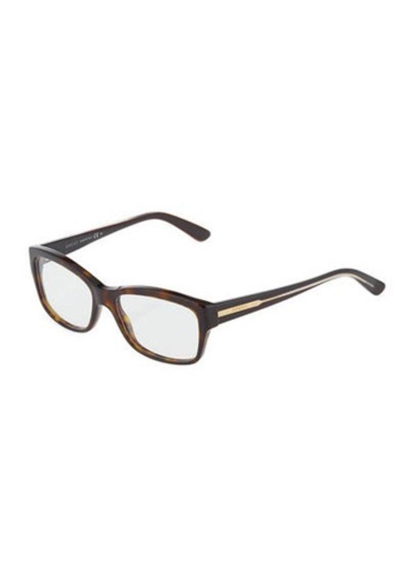 8f246bba4b Gucci Gucci Tortoiseshell Square Optical Glasses