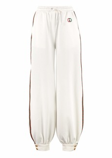 Gucci Track-pants With Decorative Stripes