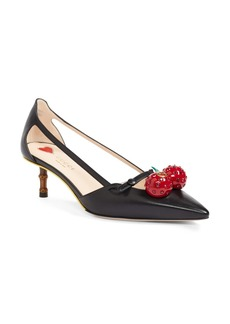 Gucci Unia Cherry Pump (Women)