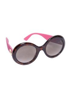 Gucci Urban Pop Glitter Round Sunglasses