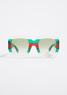 Gucci Urban Pop Square Sunglasses
