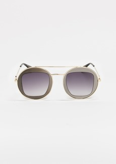 4eb8fd0e55 Gucci Gucci 63mm Gradient Oversize Butterfly Sunglasses
