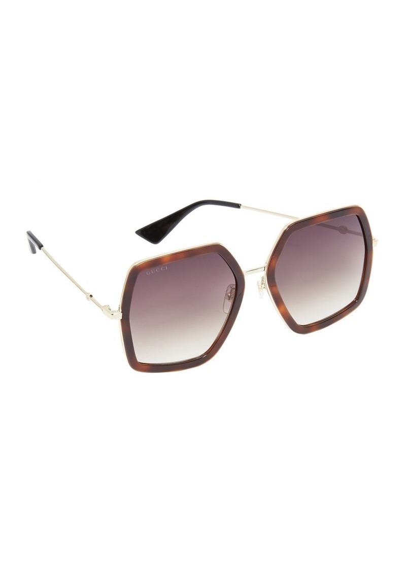 d1287a3a0a4f Gucci Gucci Urban Web Block Sunglasses