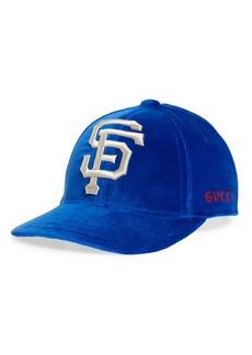 Gucci Velvet Baseball Cap