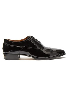 Gucci Vernice patent-leather derby shoes